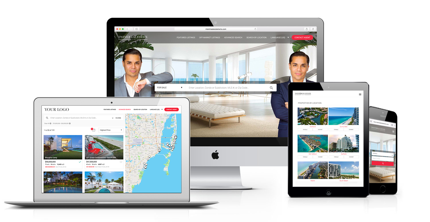IDX real estate web design